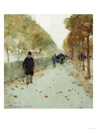 childe-hassam-quai-du-louvre-1889