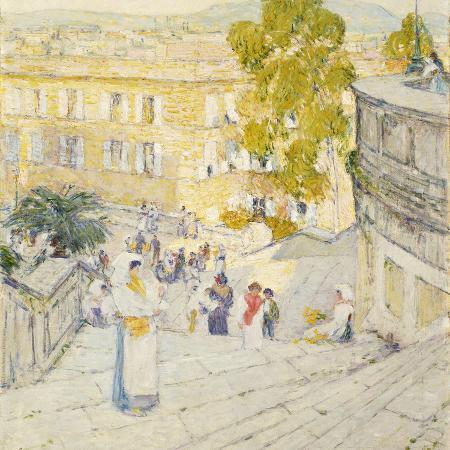 childe-hassam-the-spanish-steps-of-rome-1897