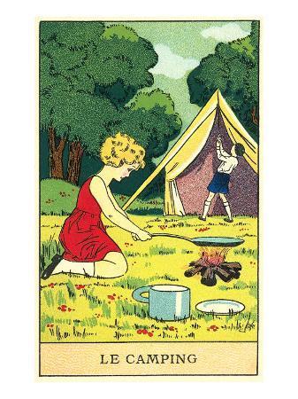 children-camping
