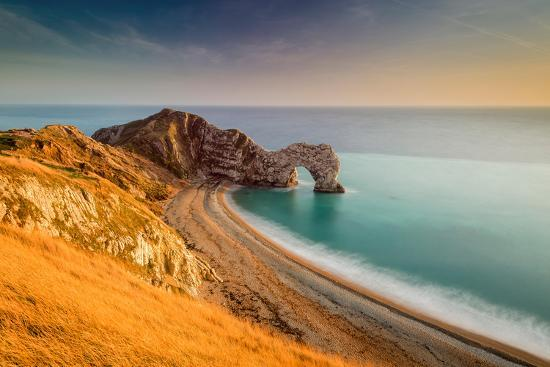 chris-button-a-view-of-durdle-door-in-dorset
