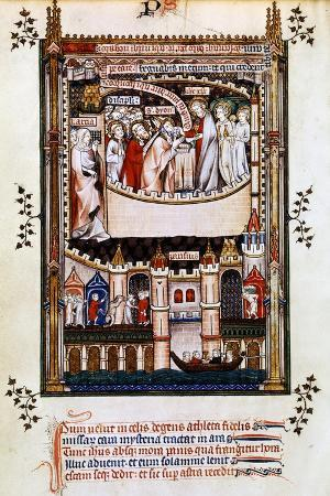 christ-gives-communion-to-st-denis-1317
