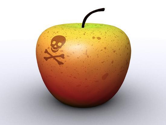 christian-darkin-apple-with-poison-symbol-artwork