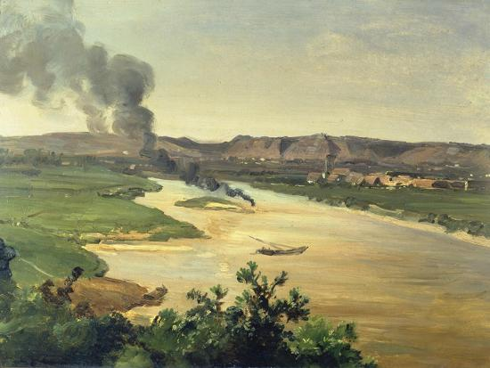 christian-friedrich-gille-view-of-the-river-elbe-c-1870