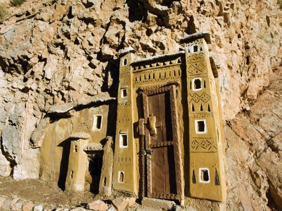 christian-kober-morocco-dades-gorge-miniature-kasbah-cut-into-rock-face