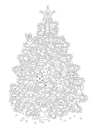 christmas-tree-design-coloring-art