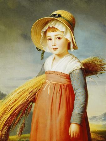 christophe-thomas-degeorge-the-little-gleaner-1824