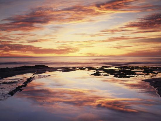 christopher-talbot-frank-california-san-diego-sunset-cliffs-sunset-reflecting-in-a-tide-pool