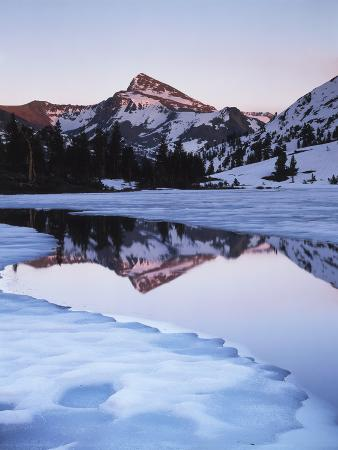 christopher-talbot-frank-california-sierra-nevada-mts-dana-peak-reflecting-in-a-frozen-lake