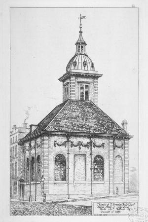 church-of-st-benet-paul-s-wharf-city-of-london-1874