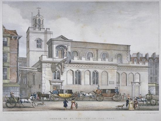 church-of-st-dunstan-in-the-west-fleet-street-city-of-london-1829