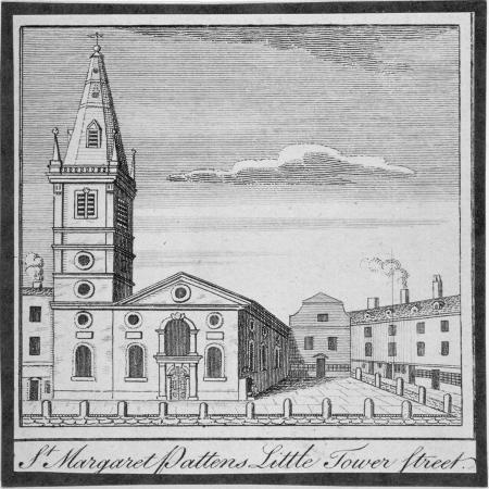 church-of-st-margaret-pattens-little-tower-street-city-of-london-1750