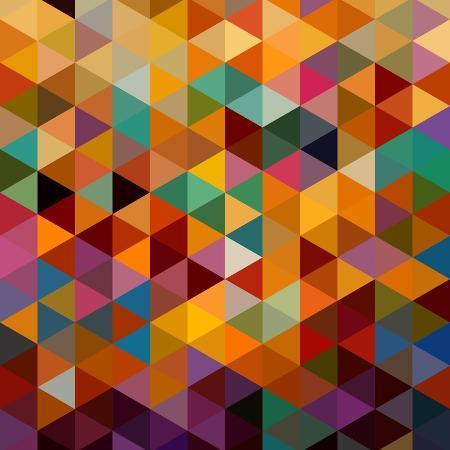 cienpies-geometric-triangle-pattern