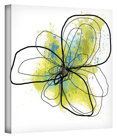 citron-petals-ii-gallery-wrapped-canvas