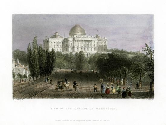 cj-bentley-view-of-the-capitol-at-washington-usa-1837