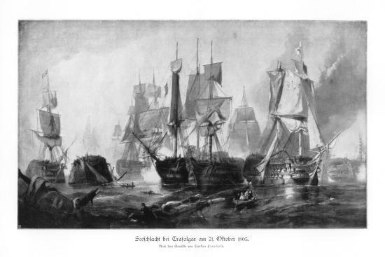 clarkson-stanfield-battle-of-trafalgar-21-october-1805
