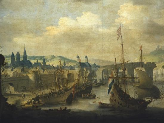 claude-de-jongh-port-of-rouen-ca-1620