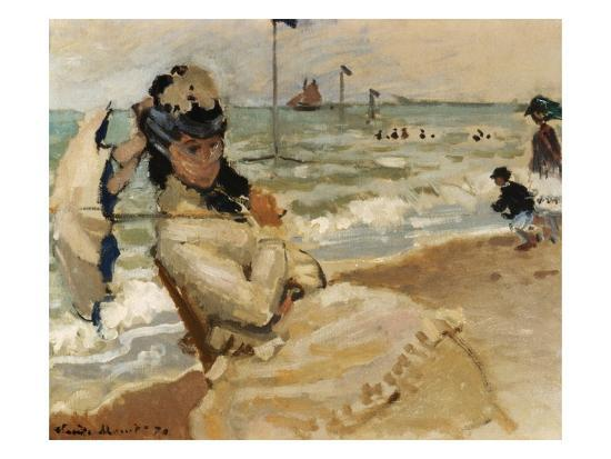 claude-monet-camille-monet-on-the-beach-trouville