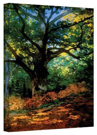 claude-monet-claude-monet-bodmer-oak-at-fountainbleau-forest-gallery-wrapped-canvas