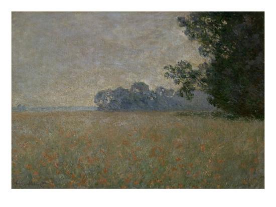 Le Champ d\'avoine aux coquelicots Giclee Print by Claude Monet at ...