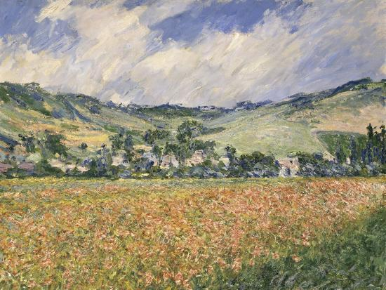 Le champ des coquelicots (environs de Giverny). Giclee Print by ...