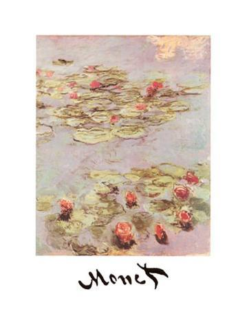 claude-monet-red-water-lilies