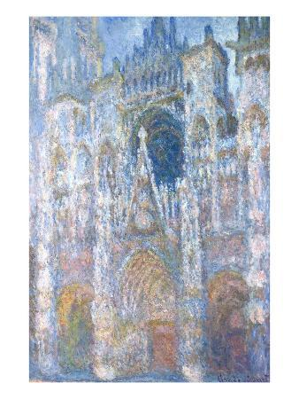 claude-monet-rouen-cathedral-blue-harmony-morning-sunlight