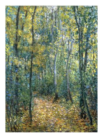 Evs Interim Aulnay Sous Bois - Sous Bois, 1876 Art Print by Claude Monet at Art co uk