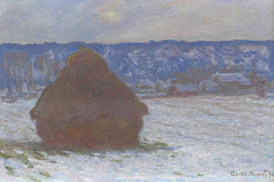 claude-monet-stack-of-wheat-snow-effect-overcast-day-1890-91
