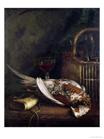 claude-monet-still-life-with-a-pheasant-circa-1861