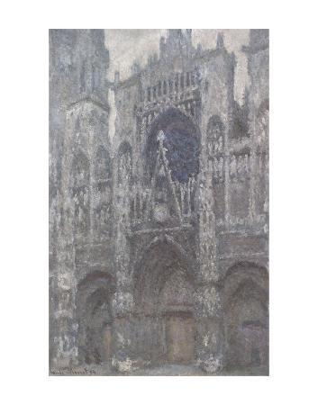 claude-monet-the-cathedral-in-rouen-the-portal-grey-weather-1892