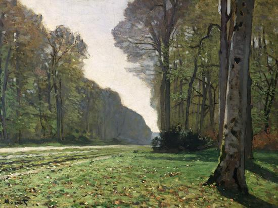claude-monet-the-road-to-bas-breau-fontainebleau-circa-1865