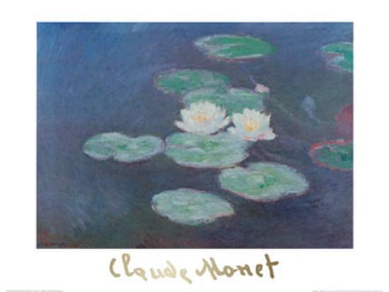 claude-monet-water-lilies-by-nightfall