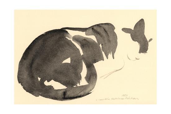 claudia-hutchins-puechavy-sleeping-cat-1984