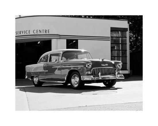clive-branson-1955-chev-belair-7-b-w