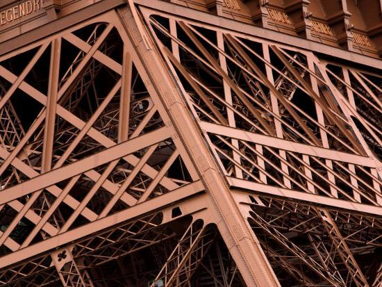 close-up-of-intricate-details-of-architectural-design-of-eiffel-tower