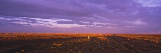 clouds-over-a-landscape-desert-highway-navajo-new-mexico-usa