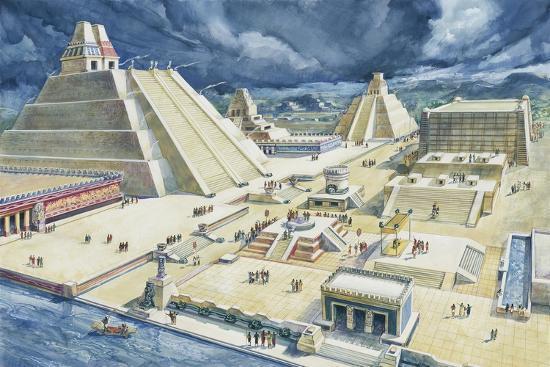 clouds-over-pyramids-templo-mayor-tenochtitlan-mexico-city-mexico