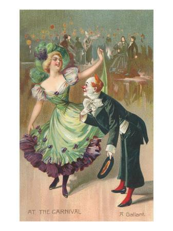 clown-and-dancer-at-carnival-a-gallant