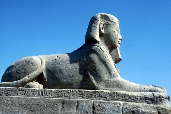 cm-dixon-a-sphinx-from-the-avenue-of-sphinxes-temple-sacred-to-amun-mut-and-khons-luxor-egypt-c370-bc