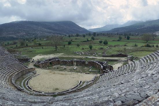 cm-dixon-greek-theatre-at-dodona-3rd-century-bc