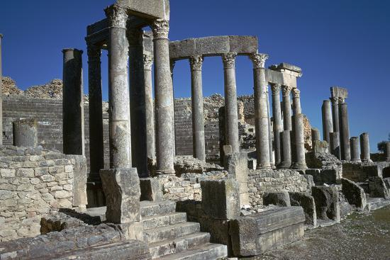 cm-dixon-the-roman-theatre-of-dougga-2nd-century