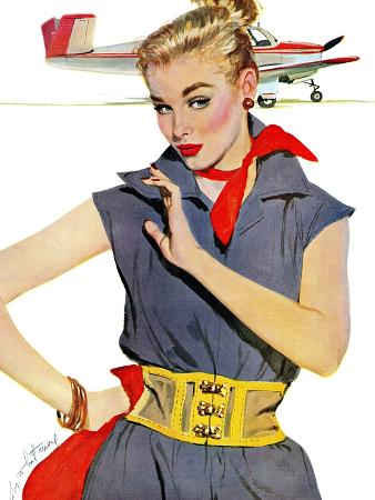 coby-whitmore-the-girl-who-stole-airplanes-saturday-evening-post-leading-ladies-december-6-1952-pg-24
