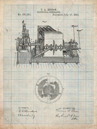 cole-borders-edison-electrical-generator-patent-art