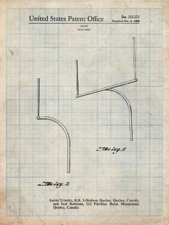 cole-borders-football-goal-post-patent-print
