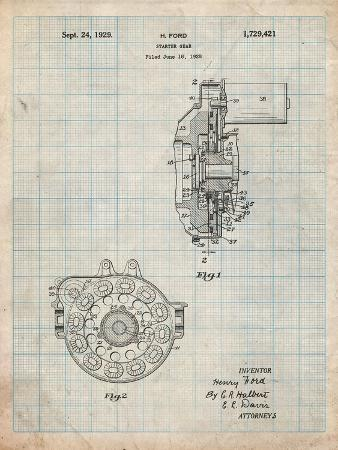 cole-borders-ford-car-starter-gear-1928-patent