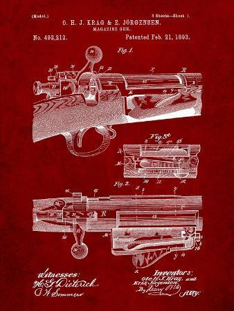 cole-borders-krag-jargensen-repeating-rifle-patent-print