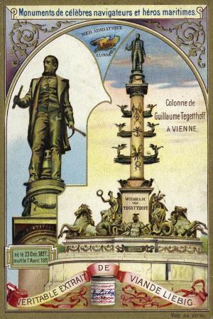 column-of-wilhelm-von-tegetthoff-austrian-admiral-vienna