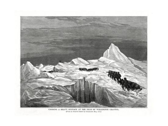 commander-may-crossing-a-heavy-ice-pack-at-the-head-of-wellington-channel-1877