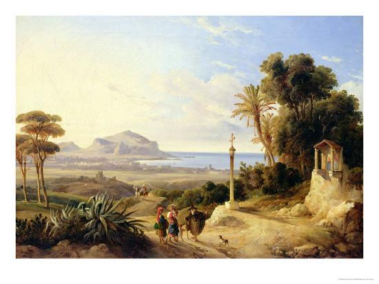 consalvo-carelli-view-of-palermo-1840