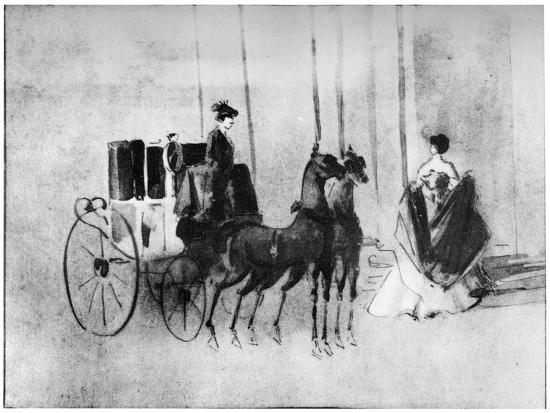 constantin-guys-arriving-at-the-ball-19th-century